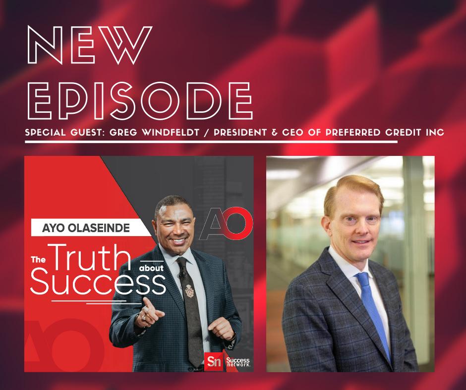 The Truth About Success – Greg Windfeldt
